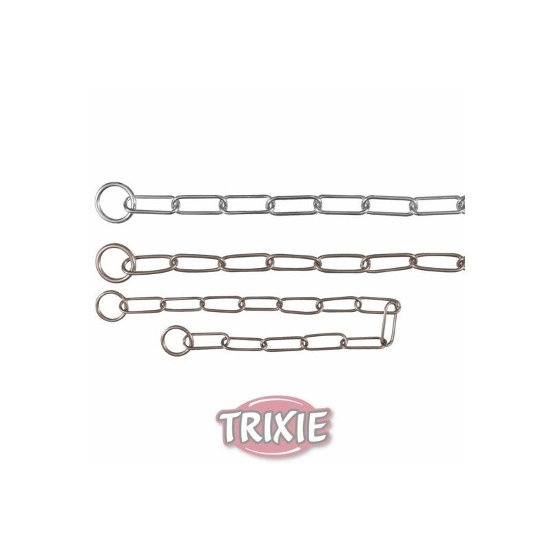 Trixie collar estrangulador, acero inox., 59 cm,4.0 mm