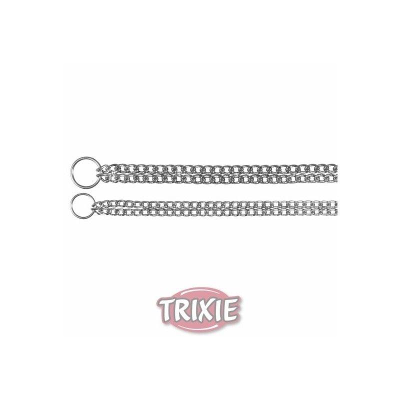 Trixie collar estrangulador doble fila 45 cm, 2,5 mm