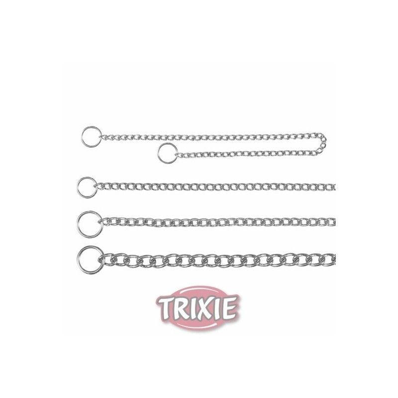 Trixie collar estrangulador, una fila, 55 cm,2.0 mm