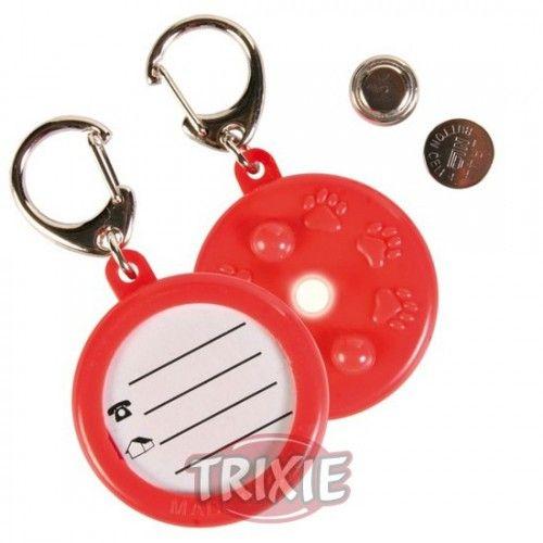 Trixie Colgante identificativo, ø 4 cm, incluye batería