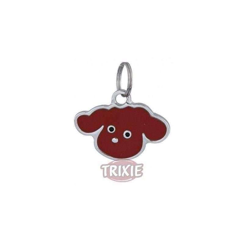 Trixie Placa identificativa, forma cabeza perro, 3520 mm