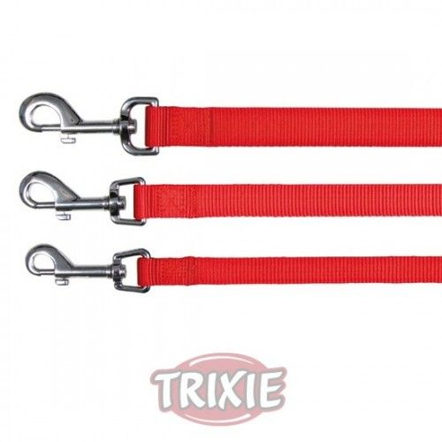 Trixie correa classic, l-xl, 1.00 m,25 mm, rojo