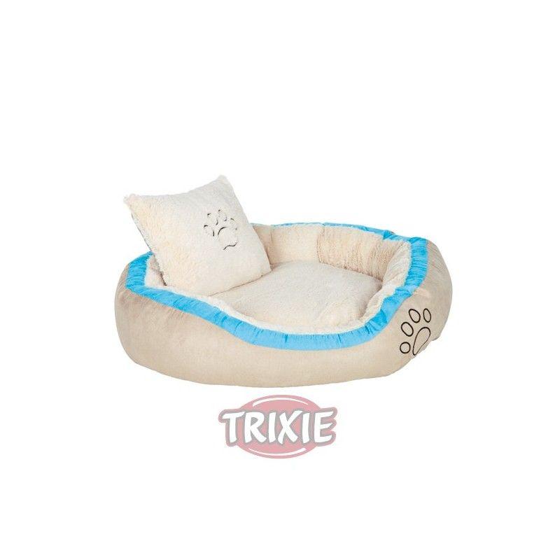 Trixie Cama bonzo cosi, 60×50 cm, beige/turquesa