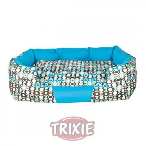 Trixie cama eliano, 55×40 cm, blanco/turquesa