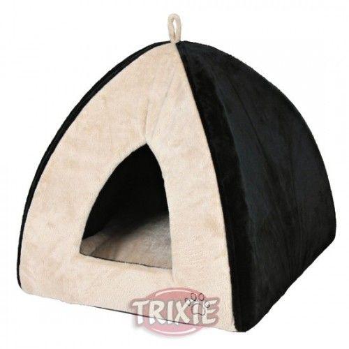 Trixie Cueva acolchada gina, 42×37×42 cm, beige-negro