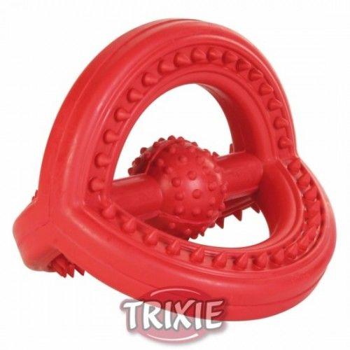 Trixie Juguete presa de caucho natural col surt 14 cm