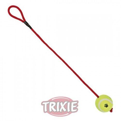 Trixie pelota tenis con cuerda