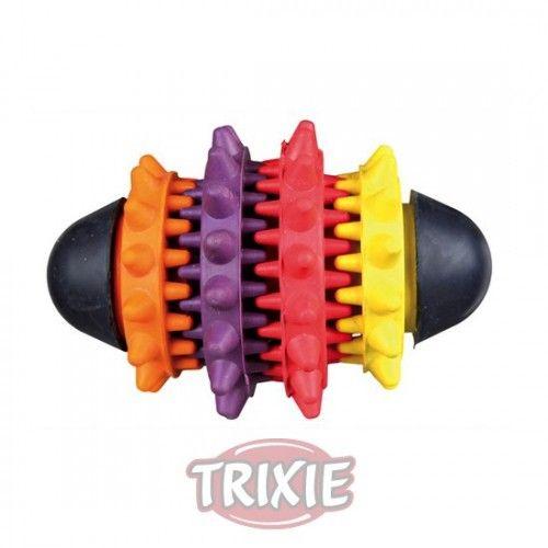 Trixie dentafun rugby caucho natural 10 cm