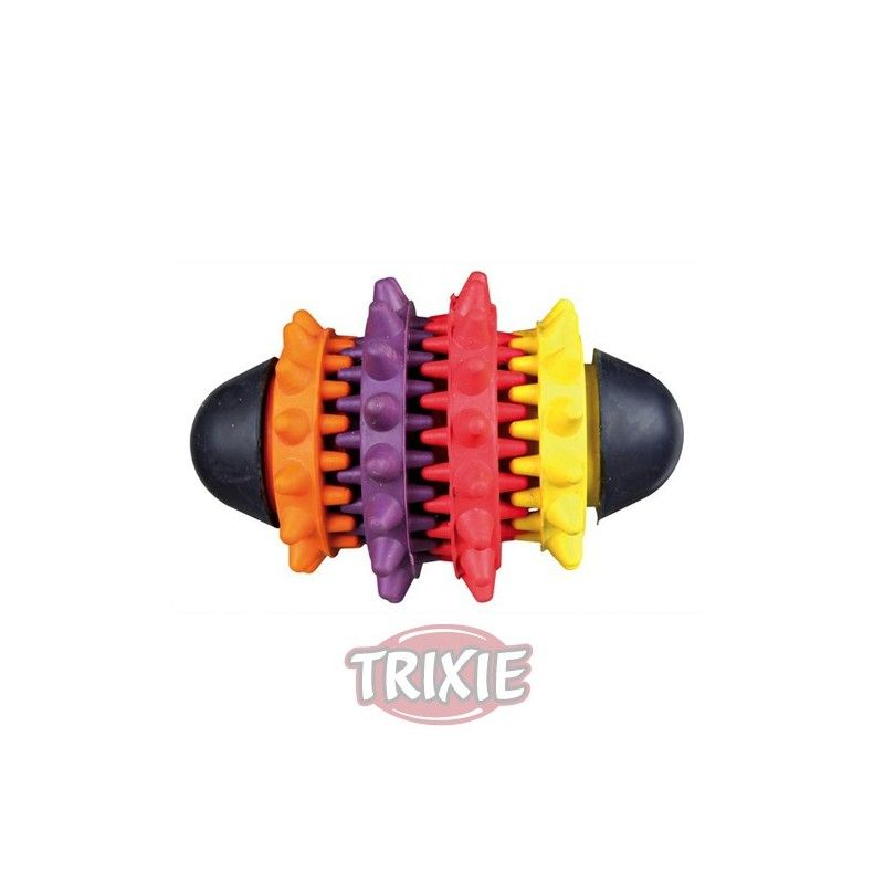 Trixie dentafun rugby caucho natural 10 cm