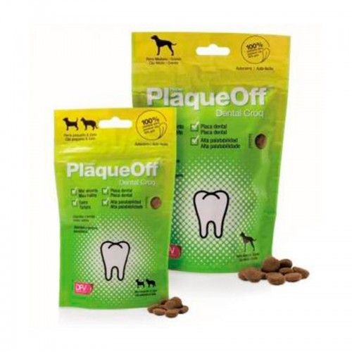 Plaqueoff dental croq 150 gr