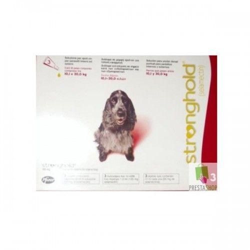 Stronghold perros de 10,1 a 20kg (6 pipetas)