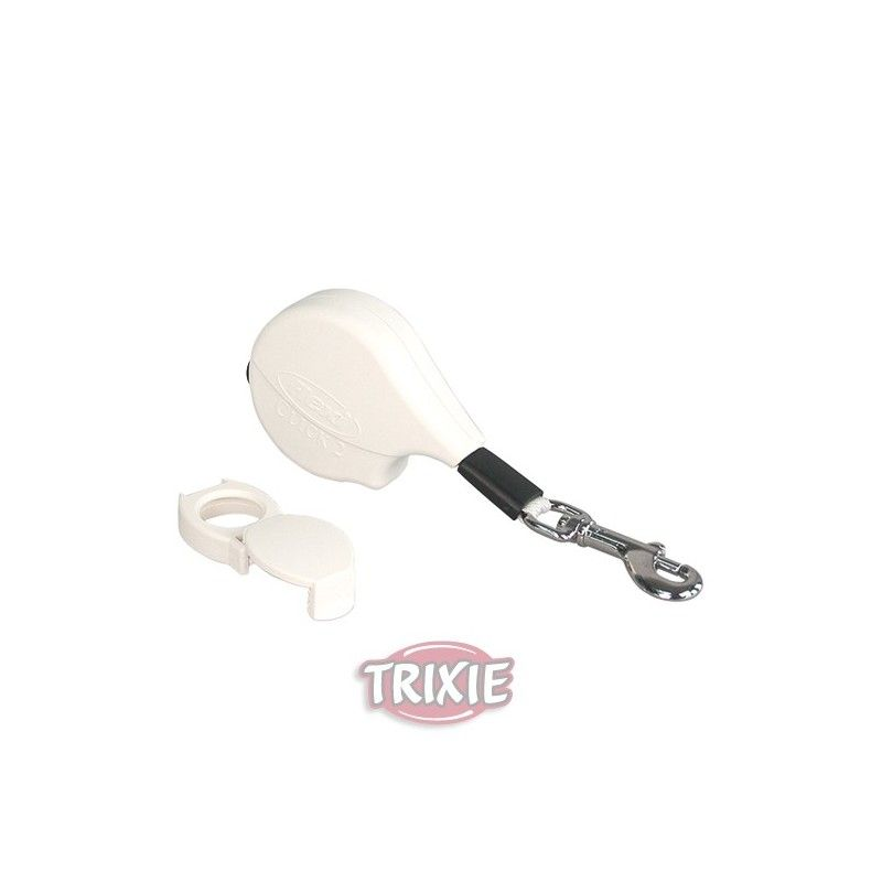 Trixie Flexi click 2. blanco