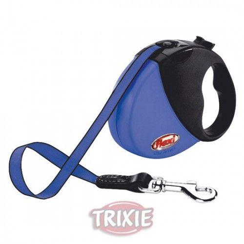 Trixie Flexi mini comfort compact, hasta 12 kg, azul