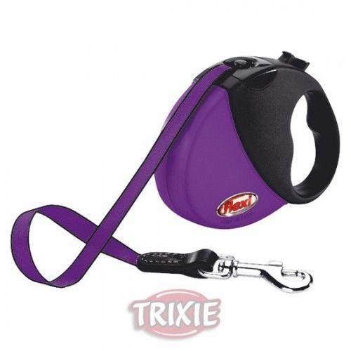 Trixie Flexi mini comfort compact, hasta 12 kg, púrpura