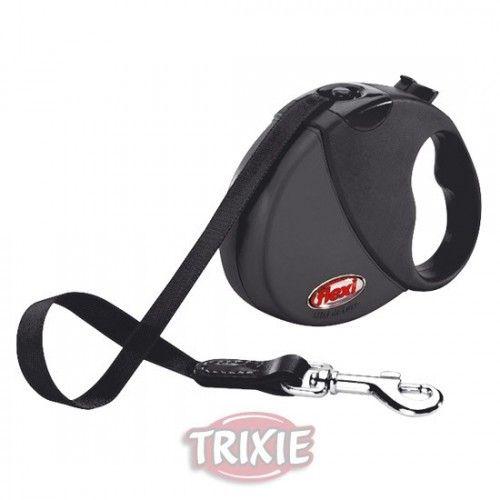 Trixie Flexi mini comfort compact, hasta 12 kg, negro