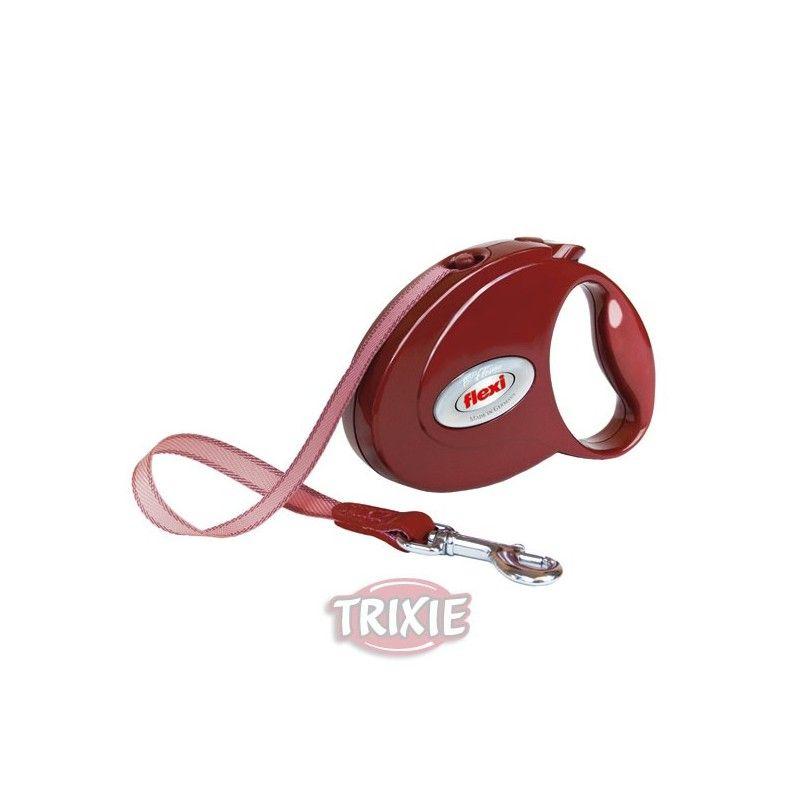Trixie Flexi petite elegance, rubí-rojo