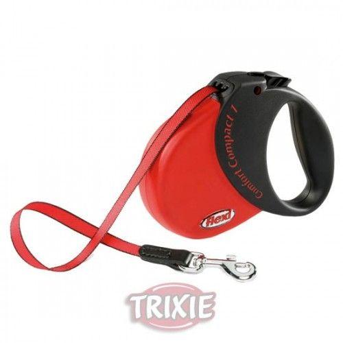 Trixie Flexi comfort compact, 1, rojo