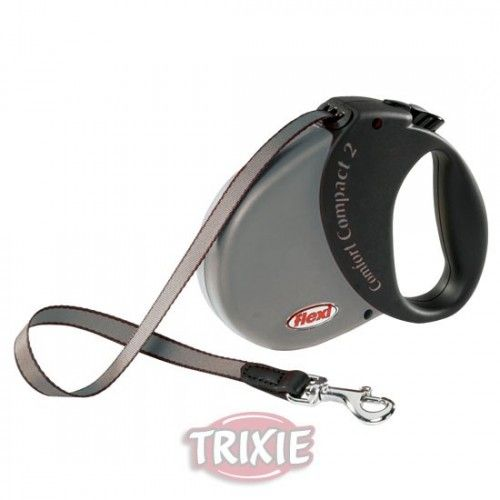 Trixie Flexi comfort compact, 2, gris platin