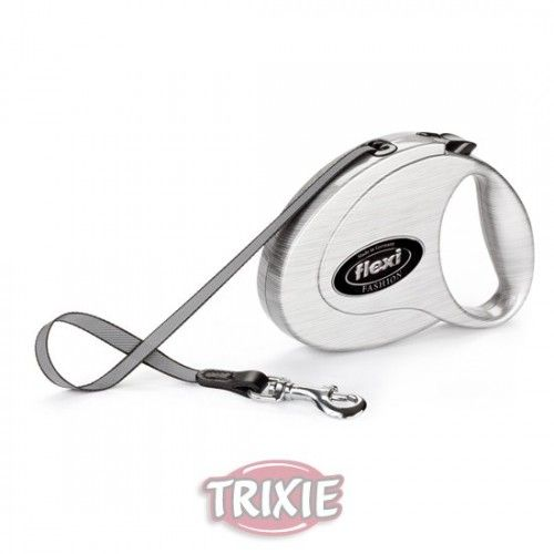 Trixie Flexi fashion medium, hasta 25 kg, metal