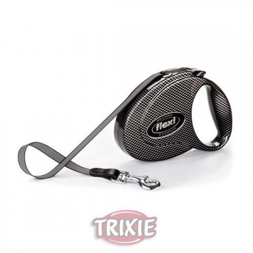 Trixie Flexi fashion medium, hasta 25 kg, carbón