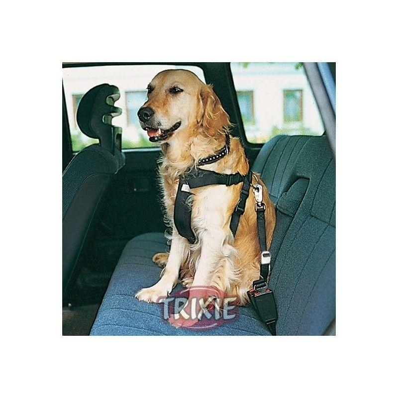 Trixie arnes con cinturon de seguridad, l, 70-90 cm